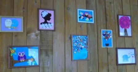 Выставка работ, учащихся занимающихся в кружке «Художественное творчество»